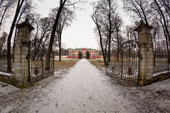 Gate To The Kadriorg Palace Royalty Free Stock Photography