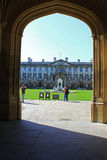 Gate to Kings College Royalty Free Stock Image