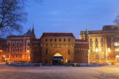 A gate to Krakow Stock Images