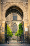 Gate to La Giralda in Sevilla Stock Image