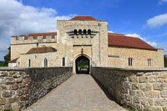 Gate to Leeds castle Stock Images