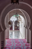 Gate to the Madrasa Bou Inania in Fez Royalty Free Stock Photo