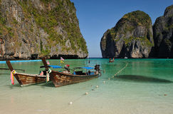 Gate to Maya Bay Stock Image