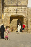 Gate to Medina of Asilah Royalty Free Stock Image