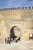 Gate to the Medina in Fes, Morocco Stock Photo