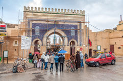 Gate to the medina in Fez, Morocco Royalty Free Stock Image