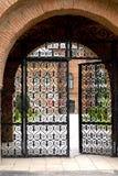 Gate to Mogosoaia palace Stock Images