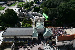 Gate to the monastery in Czestochowa Stock Image