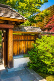 Gate to the National Bonsai & Penjing Museum at the National Arb Royalty Free Stock Photos