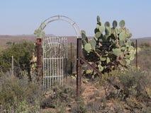 Gate to nowhere Stock Photos