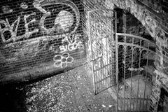Gates to nowhere Stock Image