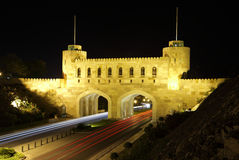 Gate to the old town of Muscat Royalty Free Stock Photography