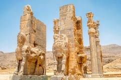 Gate to Persepolis Stock Photo