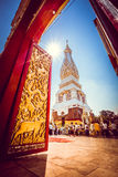 Gate to Phra Thatphanom Royalty Free Stock Image