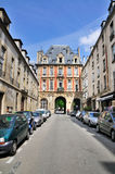 Gate to Place des Vosges Stock Photography
