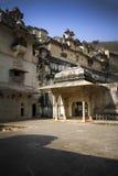 Gate to the royal palace in Bundi, India royalty free stock photos