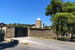 Gate to Samtavro monastery in Mtskheta, Georgia royalty free stock photography