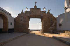 Gate to the Sea Royalty Free Stock Photography