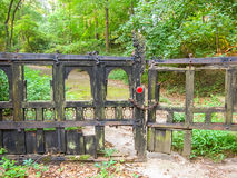 Gate to the Secret Garden Stock Images