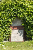 The gate to the Secret Garden Royalty Free Stock Images