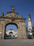 Gate to the shrine of Jasna Gora in Czestochowa Royalty Free Stock Image