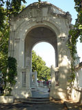 Gate to Stadtpark - Vienna Stock Images