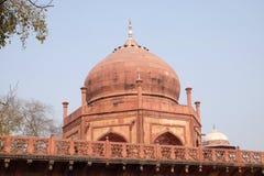 Gate to the Taj Mahal in Agra Stock Photo