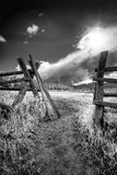Gate to the Tetons Stock Images