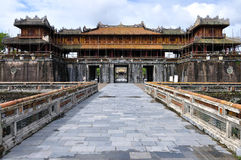 Gate To The Citadel Of Hue Royalty Free Stock Images