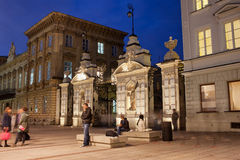 Gate to the University of Warsaw Royalty Free Stock Image