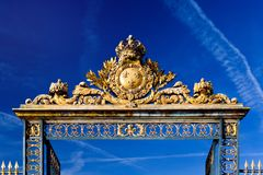 Gate to Versailles Stock Photography