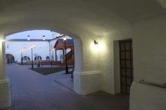 The gate of Tobolsk kremlin Stock Photo