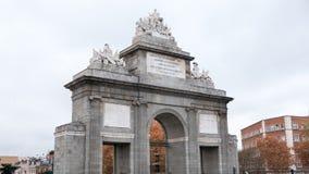 Gate Toledo in Madrid. Spain Stock Image