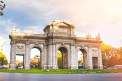 Gate of Toledo in Madrid, Spain - Puerta de Toledo. Gate of Toledo in Madrid, Spain. Official name: Puerta de Toledo. Built in 1817-1927 Royalty Free Stock Image
