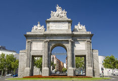 Gate of Toledo in Madrid Stock Photo