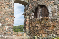 Gate at the torrent Royalty Free Stock Images