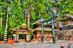 Gate of Toshogu shrine in Nikko Stock Photography