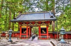 Gate of Toshogu shrine in Nikko Stock Photo