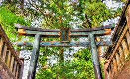 Gate of Toshogu shrine in Nikko Stock Image