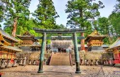 Gate of Toshogu shrine in Nikko Royalty Free Stock Photo