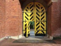 Gate towards the Kosciuszko Mound. In Krakow Poland Royalty Free Stock Images