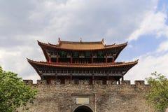 Gate tower  in  dali ,yunnan ,china Royalty Free Stock Photo