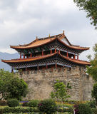 Gate tower in dali ,yunnan,cina Royalty Free Stock Photos