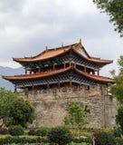 Gate tower in dali ,yunnan,cina Royalty Free Stock Photos