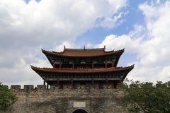 Gate tower in dali ,yunnan,cina Stock Photos