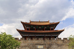 Gate tower in dali ,yunnan,cina Stock Image