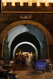 Gate tower, dongguan street, Yangzhou city, Jiangsu province, China Royalty Free Stock Photography