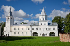 The Gate-Tower of the Gostiny Dvor Stock Photography
