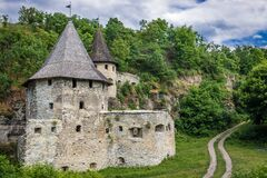 Free Gate Tower In Kamianets Podilskyi Royalty Free Stock Photos - 184516438