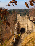 Gate tower of Oybin Castle Royalty Free Stock Image